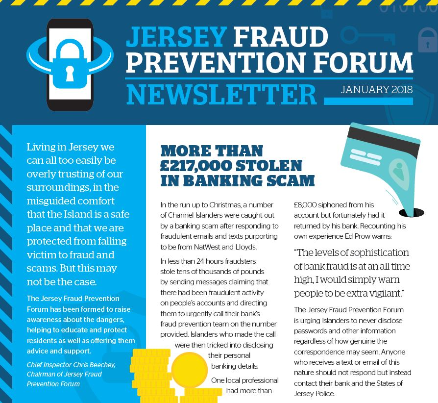 Jersey Fraud Prevention Forum raises awareness following spate of scams and frauds