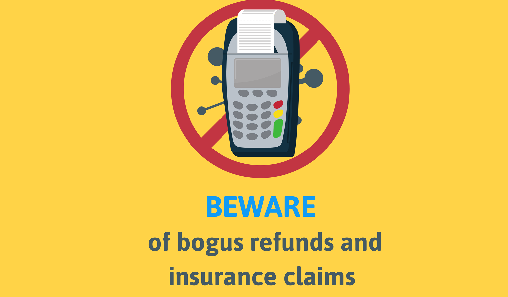 Beware of bogus travel refunds and insurance claims