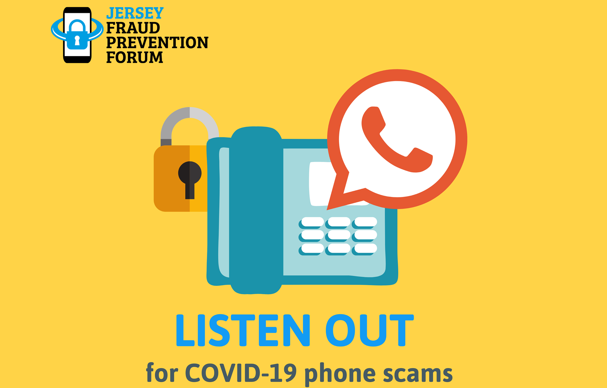 Warning of COVID-19 phone scams